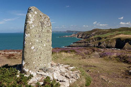 Carregwastad Point Memorial Stone