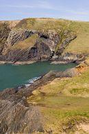 Raised beach -4- Ceibwr Bay