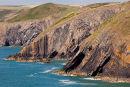 Cliffs- Ceibwr Bay