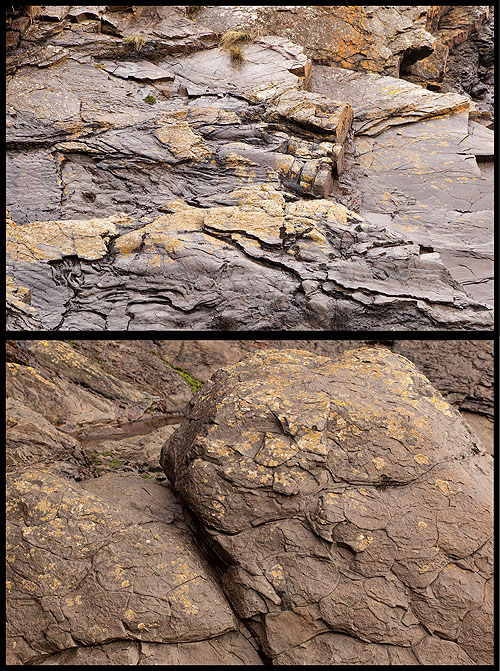 Turbidite Rocks - 2 / Flute Casts