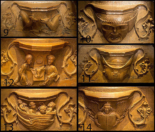 Misericords - 2