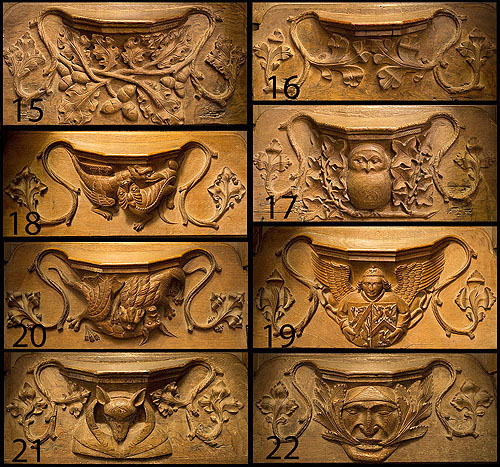 Misericords - 3