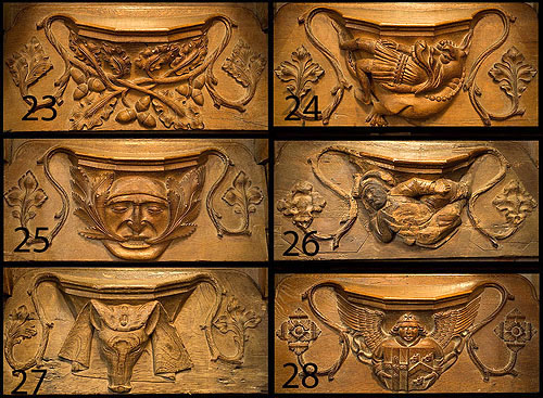Misericords - 4