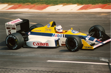 Jean-Louis Schlesser at Monza in 1988