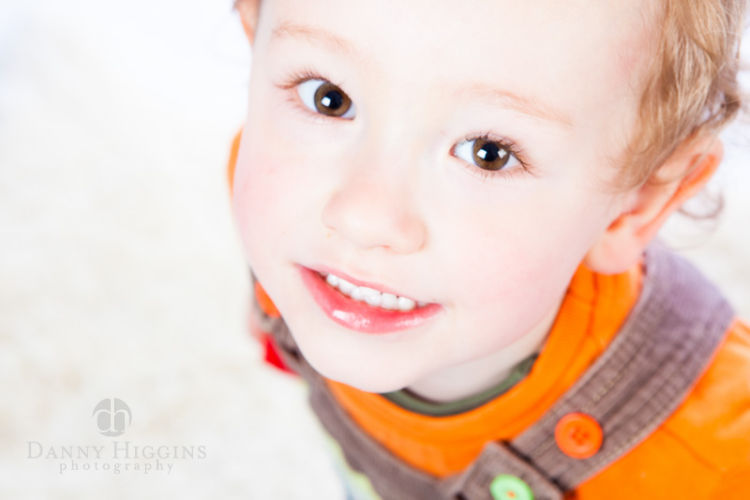 kids studio portrait photographer