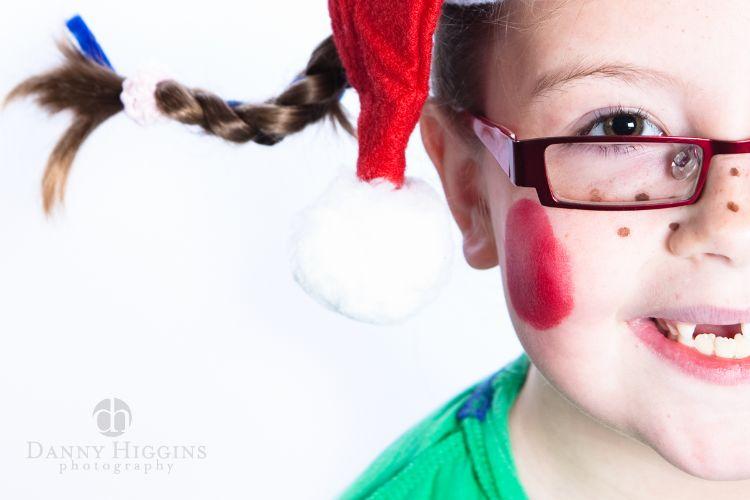 preschool xmas portrait photographer