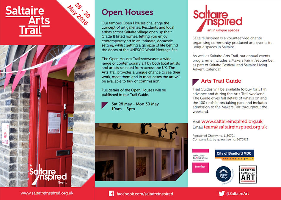 Saltaire Arts Trail 2016