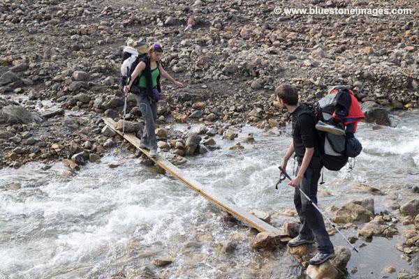 01M-0461 Temp Crossing the Grashagakvisl River Iceland
