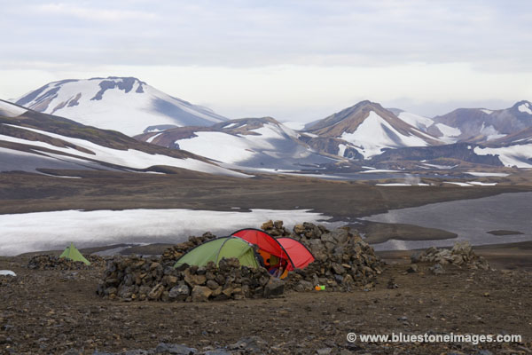 01M-0547 Temp Camping Area Below Hut