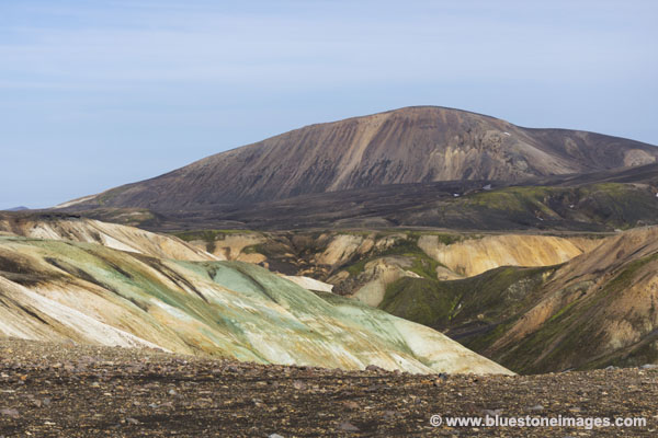 01M-0563 Temp Colourful Hills Near the Storihver Geothermal Area Iceland