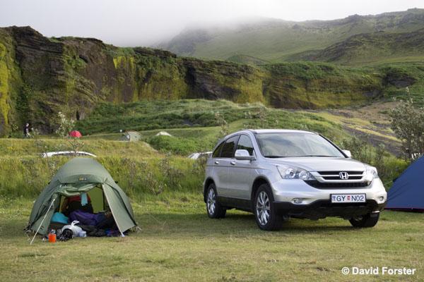 01M-0770 Temp Campsite at Vik Iceland.