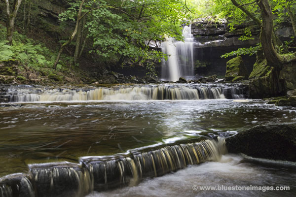 01M-1448 Summerhill Force Bowlees Upper Teesdale County Durham UK.