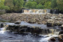 01M-4270 Wain Wath Force on the River Swale Swaledale Yorkshire Dales UK
