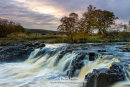 The River Tees and Pennine Way at Low Force Bowlees Teesdale County Durham UK
