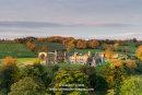 Morning Light Illuminating the Ruins of Egglestone Abbey near Barnard Castle, Teesdale, County Durham UK.