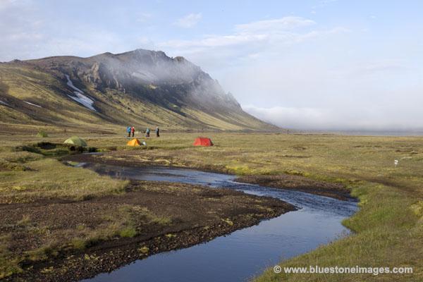 06D-0929 Camping Area at Alftavatn