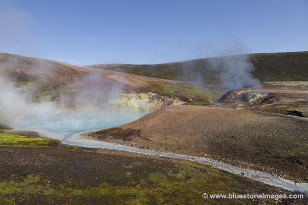 06D-1266 Temp The Storihver Geothermal Area Iceland