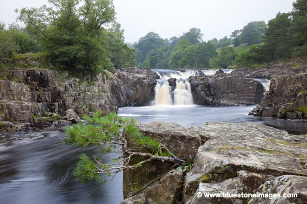 06D-3220 The River Tees at Low Force Upper Teesdale County Durham UK.