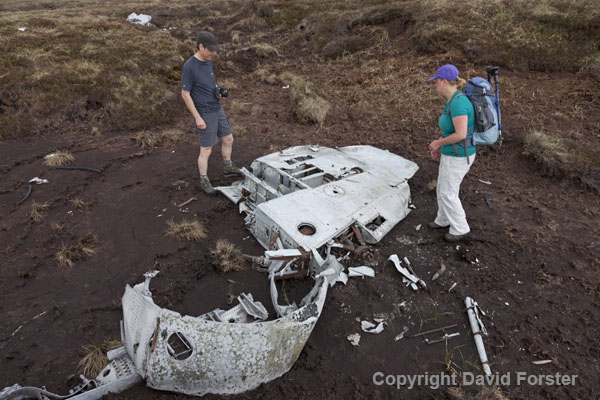 06D-8471 Aircraft Wreckage from a Gloster Meteor NF11 (Serial No WD778).
