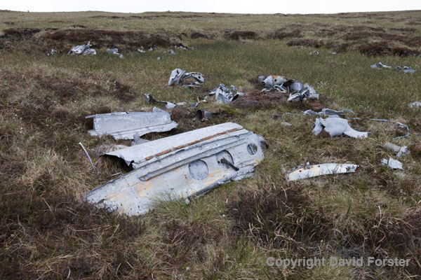 06D-8552 Aircraft Wreckage from a Gloster Meteor NF11 (Serial No WD778).