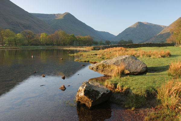 07-9692 Brotherswater and The View South to The Mountains of Caudale Moor and Middle Dodd/Red Screes Lake District Cumbria