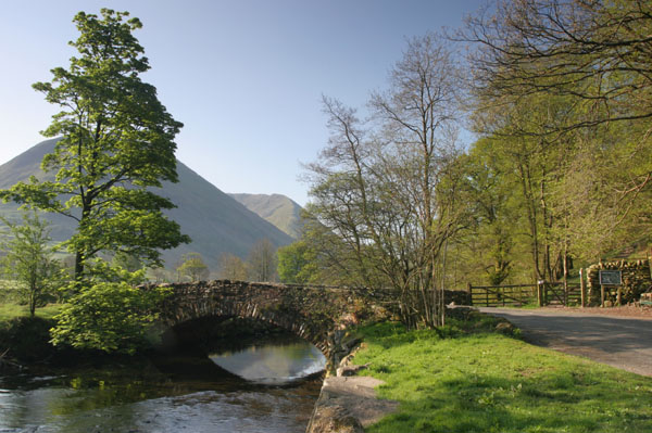 07-9855 Bridge Over Goldrill Beck Near Brotherswater Lake District Cumbria