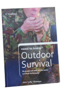 Book Front Cover: Outdoor Survival by John (Lofty) Wiseman:  Pub Collins