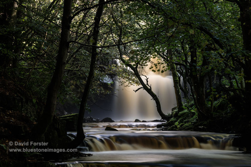 A Mystical Summerhill Force and Bowlee Beck, Bowlees, Upper, Teesdale, County Durham, UK