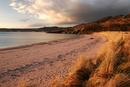 4688 The Village of Gairloch and Strath Bay across Loch Gairloch in Evening Light.  West Coast of Scotland