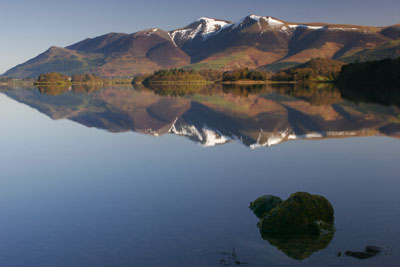 5693 Skiddaw from Barrow Bay, Derwentwater, English Lake District.