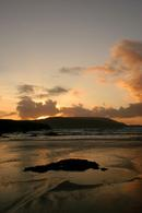 9578 Sunset over Cape Wrath, Balnakeil Bay, Near Durness, North West Scotland.