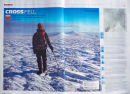 Image Use - Trail Magazine (double page) - Walker on the Crossfell plateau in winter