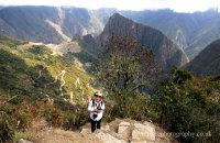 Rosemary at Machu Picchu