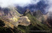 Machu Picchu under clouds