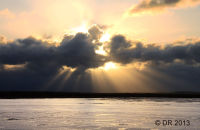 (1) The big skies are often the most dramatic part of the landscape; more images of Stiffkey Marsh