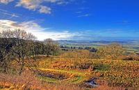 (1) HDR images of the Cotswolds
