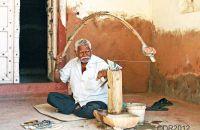 Local stone mason
