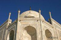 Taj Mahal in close up