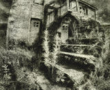Station House (Oil Print)