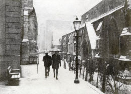Grayfriars in Winter