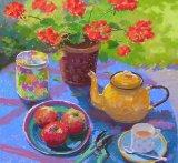 Tea Break 15inx16in