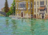 The Grand Canal at Accademia 12x16