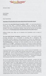 BrandLaureate Citation Page 1