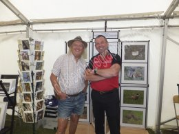 Myself with Phil Harding from Time Team