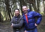 Happy boys, myself and Rhys, last day of filming for the 2014 Rhys Jones Wildlife Patrol series
