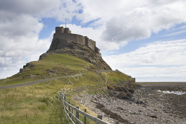 Holy Island off the Northumberland coast