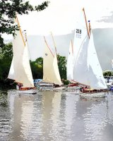 Three Rivers Race, Horning