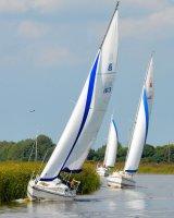 Sailing on River Bure