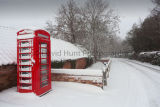 Phone Box in Winter