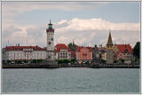 Lindau from Bodensee